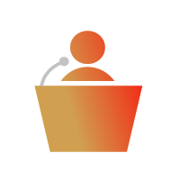 Diversity and inclusion speaker icon